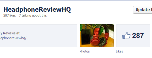 This is how many page likes I had before boosting my post.